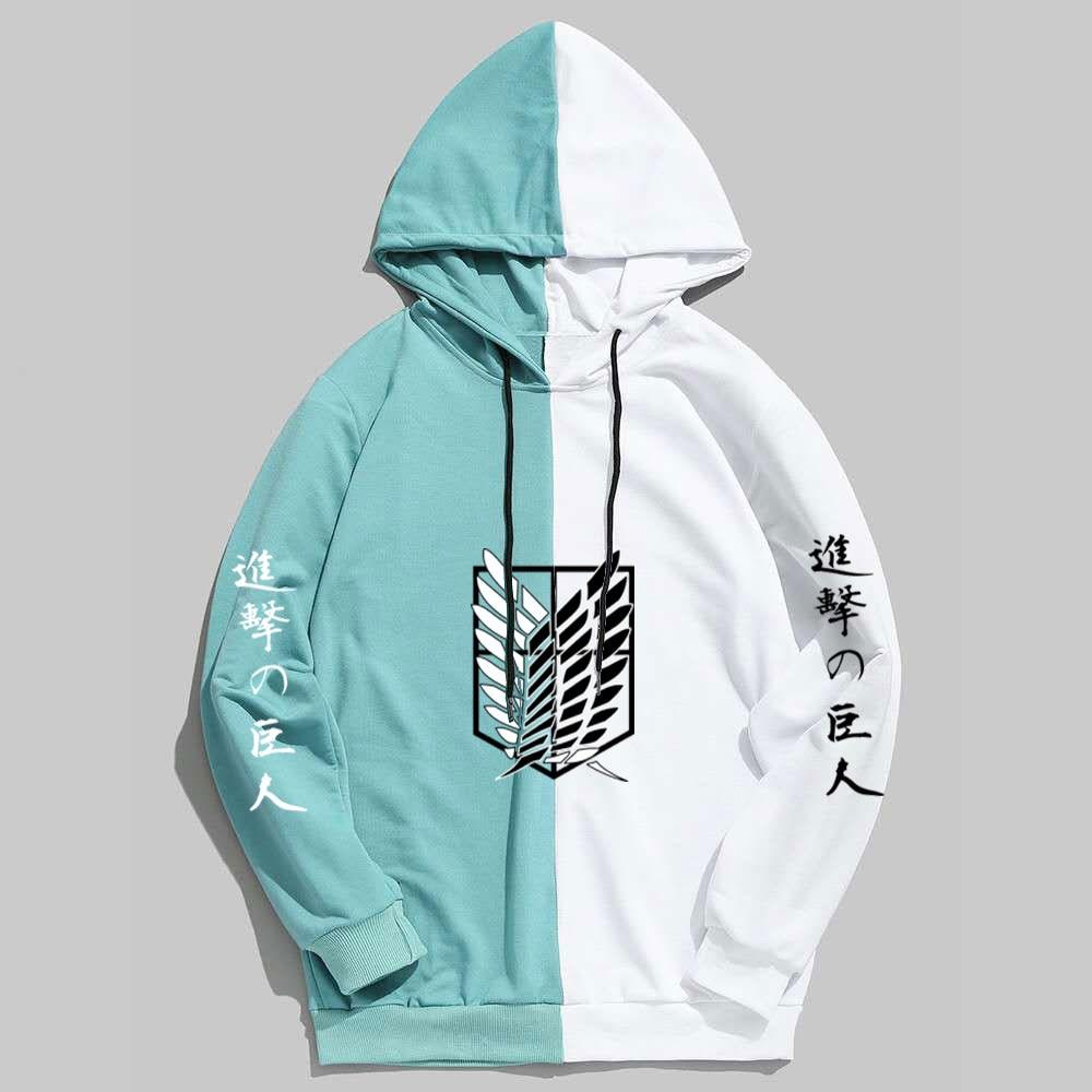 New Summer Anime Brand  Attack on Titan  Printing The Sharingan Hoodies Pullover Sweatshirt Harajuku Hip Hop Thin Clothing 3