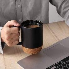 Керамическая пробка Нижняя кружка с крышкой кофейная чашка термальная