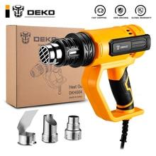 DEKO NEW DKHG04  Advanced Hot Air Gun Temperatures Adjustable  Electric Heat Gun