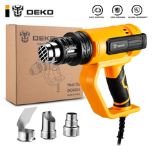 DEKO NEW DKHG04  Advanced Hot Air Gun Temperatures Adjustable  Electric Heat Gun