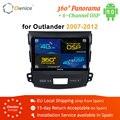 Ownice K1 K2 K3 K5 K6 Auto Audio DVD Speler GPS Navigatiesysteem voor Mitsubishi Outlander 2007 Media Player 4G DSP 360 Panorama