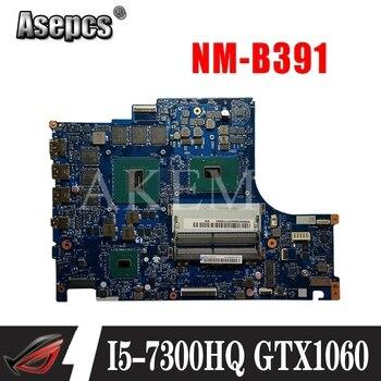 FRU:5B20P24353 MB BY520 NM-B391 REV 1.0 placa base original para Y520-15IKBM I5-7300HQ N17E-G1-A1 3G Laptop motherboard
