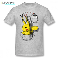 New Pokemon T Shirt Pp Mens T-shirt Cotton XXXL Short Sleeve Shirts For Men Plus Size 2XL 3XL Group Tshirt
