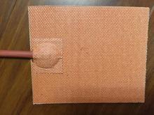 24 v 450 w 400 * 400 mm silicone riscaldamento pad/riscaldatore letto per stampante 3d con 3m nastro electric heater Tool parts кроссовки для активного отдыха женские reebok cl lthr ripple цвет сиреневый dv3636 размер 7 5 38