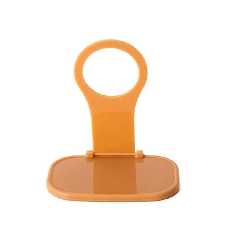 Nieuwe Folding Charger Adapter Houder Stand Cradle Belasting Houder Opknoping Willekeurige Kleur Houder Planken Voor Mobiele Telefoon TSLM1