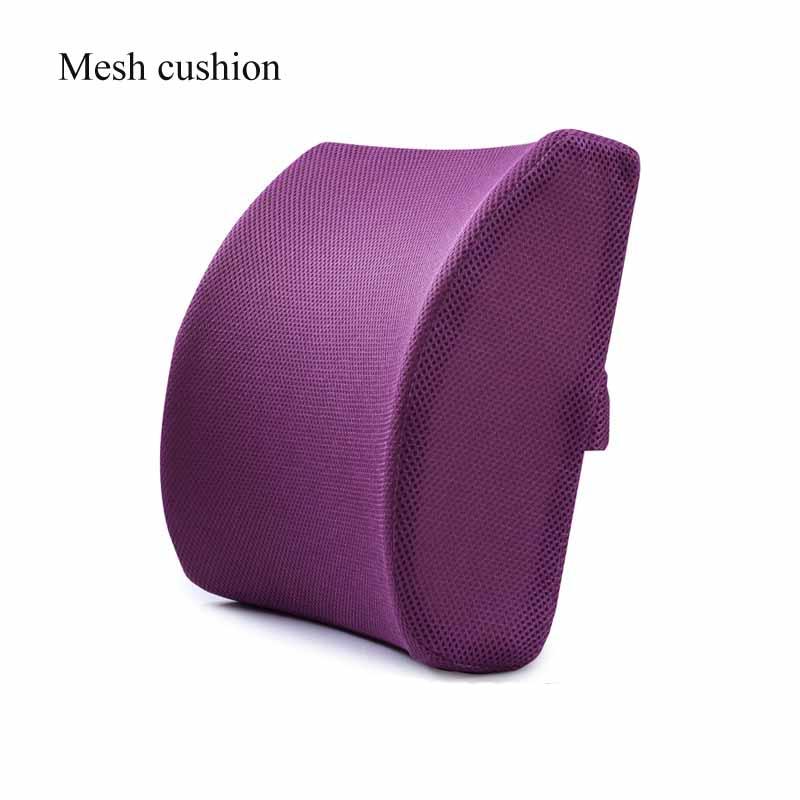 H5d74d8796f524636bdbf91af2ae3fa84k Car Seat Cushion Coccyx Orthopedic Memory Foam Seat Massage Chair Back Cushion Pad Office Massage Cushion