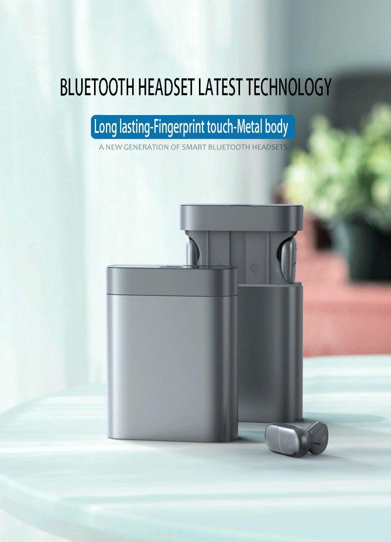 Tws bluetooth 5.0 fones de ouvido 5000mah