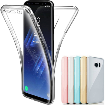360 Full Body Case For Samsung Galaxy M10 M20 M30 A10 A30 A40 A50 A60 A70 A20E A40S A6 A7 A8 A9 2018 Soft Clear TPU Phone Covers image