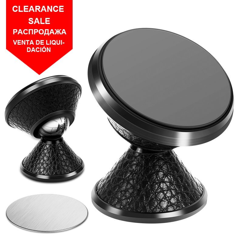 (Clearance Sale) Universal Magnetic Mobile Car Phone Holder Air Vent/Desk Mount Stand Support Cellular Phone