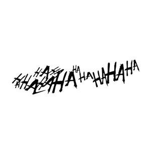 Image 4 - Für 1 stücke Joker Hahaha Ernsthafte Super Schlechte Bösen Seite Körper Batman Gotham Auto Aufkleber Aufkleber