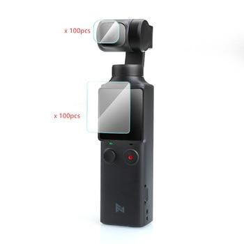 100pcs Tempered glass films Lens screen film For FIMI PALM Pocket camera gimbal accessories (2pcs/box)