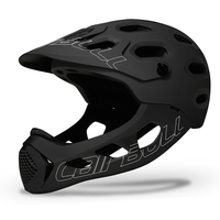 Allcross Full face Bicycle Adults Helmet Mountain MTB Road Motorcycle avt Trial DH race Downhill Cascos Ciclismo Cycling Helmet