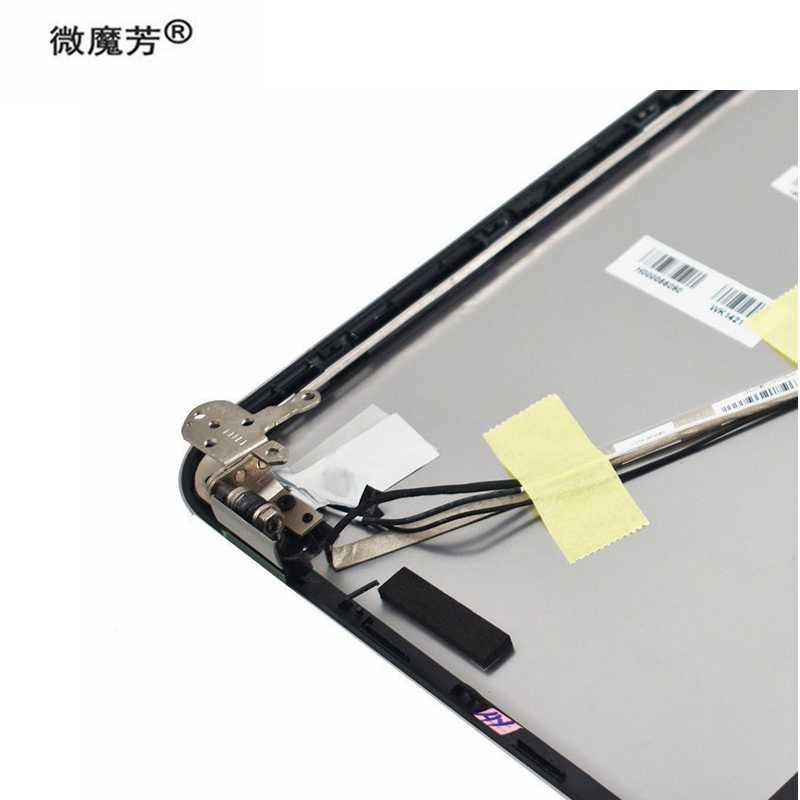 SZYJT New for Toshiba Satellite P55T-A P55t-A5202 P55T-A5118 P55T-A5116 Top Back Cover A Shell H000056090 with Hinges