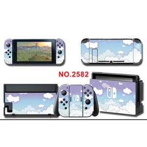 Image 2 - Protector Cover Decal Vinyl Skins Sticker for NS Console+Controller+Stand Holder Cloud sticker