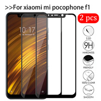 2 pezzi di vetro temperato Pocofone F1 per Xiaomi Pocophone F1 pellicola protettiva per schermo Xiomi Mi Poco X3 Pro F3 M3 F 1 3 Pocof1 pellicola protettiva