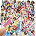 50 шт. Disney наклейки с картинками принцесс замороженная игрушка