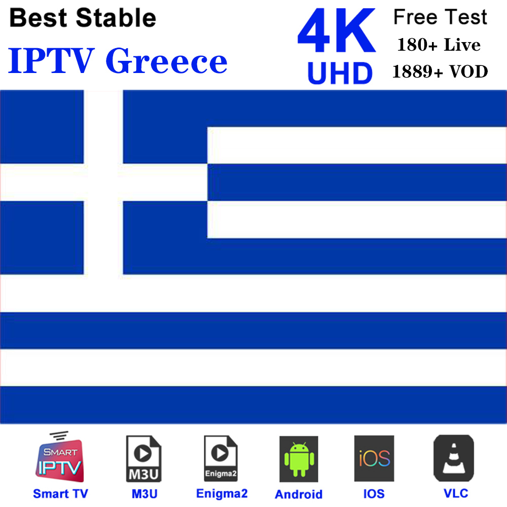 Greece IPTV Greek M3u Subscription Nova Sport  Cinema Cosmote Sport For Smart TV Box Android 9.0 Smart IPTV Smarters H96 Max MAG