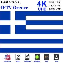 Greece IPTV Greek m3u Subscription Nova Sport Cinema Cosmote sport for Smart TV