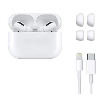 Apple-auriculares AirPods Pro3 con estuche de carga, Bluetooth, bajo inalámbrico, tonos de conexión Siri para iPhone, iPad, Apple Watch