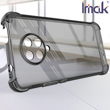 Imak airbag caso para poco f2 pro redmi k30 pro ultra resistência à queda tpu macio silicone claro transparente capa pouco f2 pro
