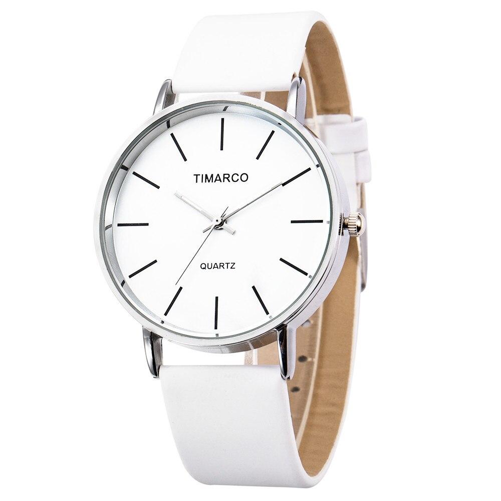 Women's Watches Simple Style Watch Women Minimalist Watch Quartz Clock Leather Strap Watch Hodinky Relogio Feminino Montre Femme