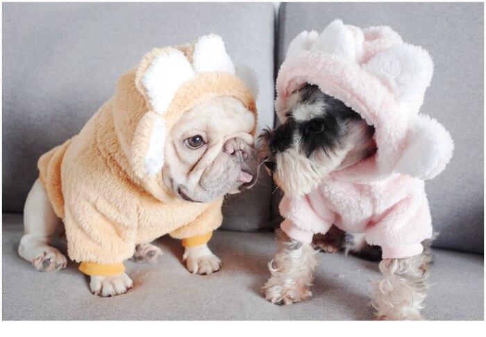 macia gato casaco de cachorro jaqueta roupas