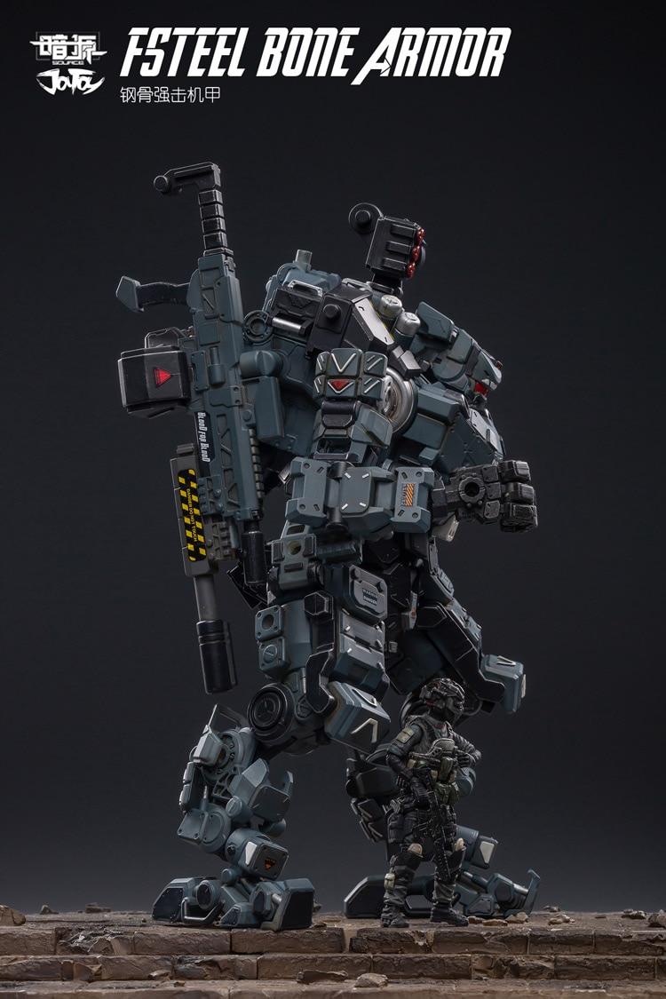 Joytoy 125 figura de ação robô fsteel