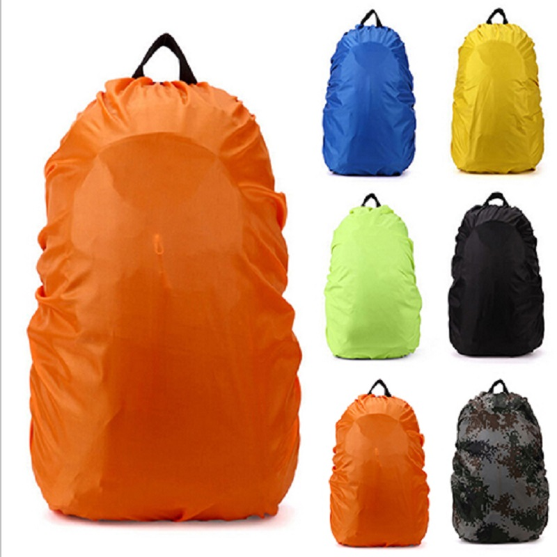 Rain Cover Dust-proof Backpack 35L 45L Waterproof Rain Cover Camo Shoulder Bag For Outdoor Camping Hiking Portable Protect Case