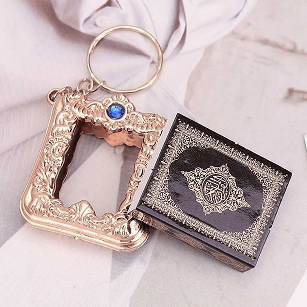 Mini-Ark-Quran-Book-Koran-Pendant-Muslim-Keychain-Bag-Purse-Car-Decor-Newly (4)