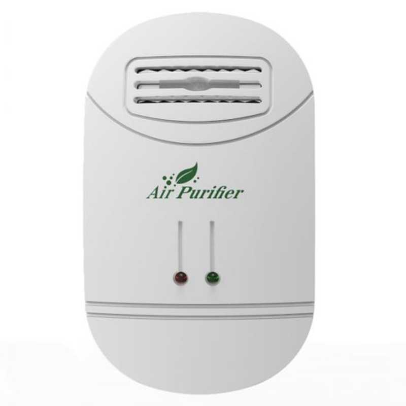 Ionizer Air Purifier For Home Negative Ion Generator Air Cleaner Remove Formaldehyde Smoke Dust Purification Home Room Deodori