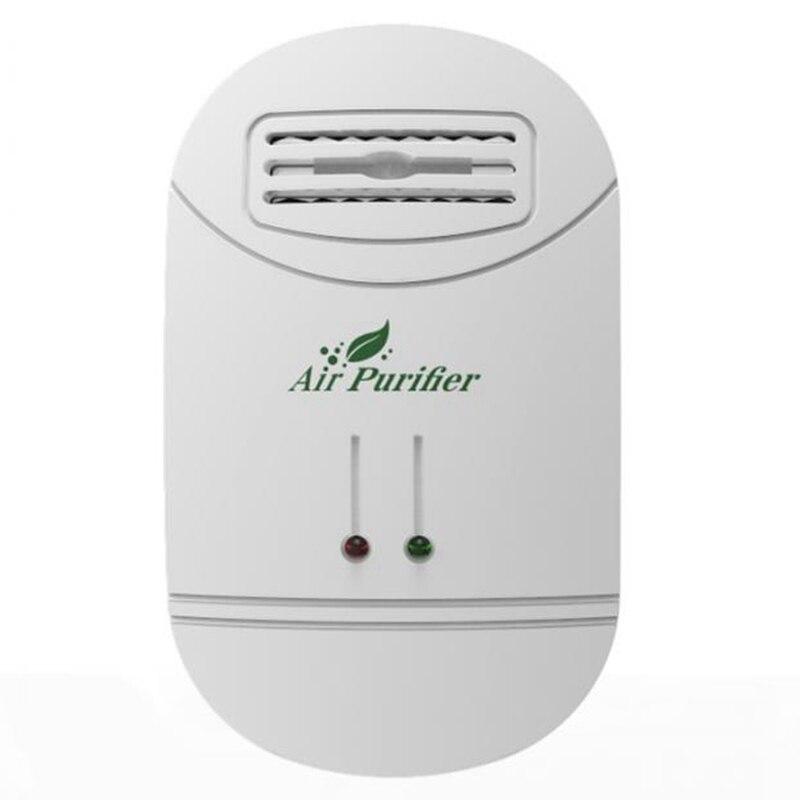 Ionizador purificador de aire para el hogar generador de iones negativos limpiador de aire eliminar formaldehído humo Purificación de polvo hogar habitación Deodori