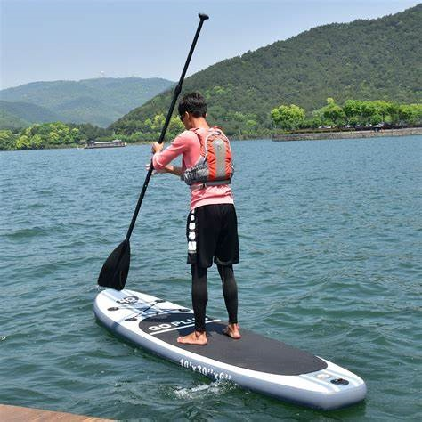 305 X 76 X 15 cm inflatable Stand Up Fishing Board 1