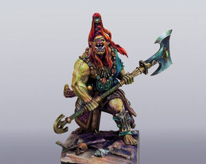 Image 2 - 1/24 75mm ancient stand WARRIOR (NO BASE ) 75mm  Resin figure Model kits Miniature gk Unassembly Unpainted