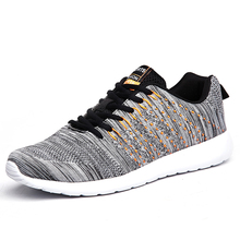 2020 Men Shoes Lightweight Comfortable Mens Casual Shoes Breathable Mesh Sneakers Men Lace-up Fashion Non Slip Big Size 46 cozulma women candy color breathable canvas shoes lace up fashion sneakers female non slip casual shoes size 35 40