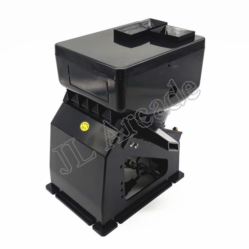 Wysokiej jakości 6 otworów 220V 24V coin motor coin hopper z silnikiem US Plug dla arcade slot machine coin charger automat sprzedający