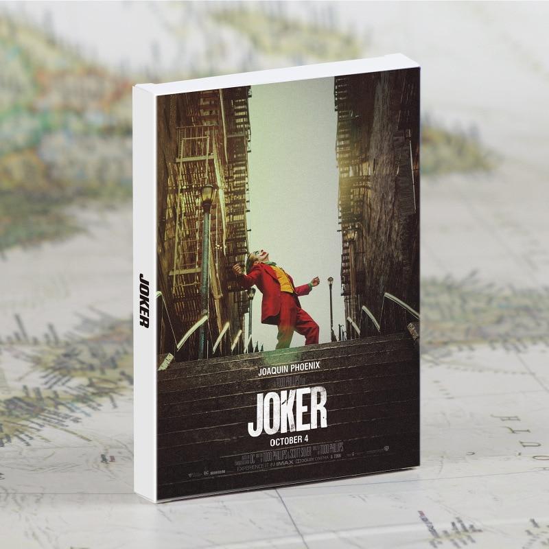 30 Pcs/Set Movie Joker Postcard DIY Greeting Cards Message Card Journal Wall Decoration
