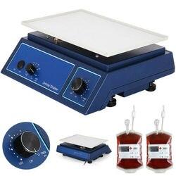 Лабораторный осциллятор орбитальный ротатор шейкер платформа блендер Биохимический 0-210 об/мин контроль скорости с 12,5x8,5 дюйма Рабочая плат...