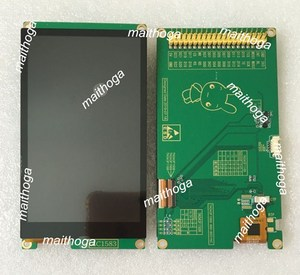 Image 1 - Ips 4.3 Inch 16.7M Spi Rgb Hd Tft Lcd Capacitieve Touch Screenmodule RM68120 Ic 480*800 Parallelle Interface