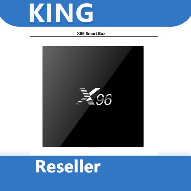 KINGOTT X96 Android smart tv box panel for France french Spain Portugal Belgium reseller TV box only, no channel or APP included