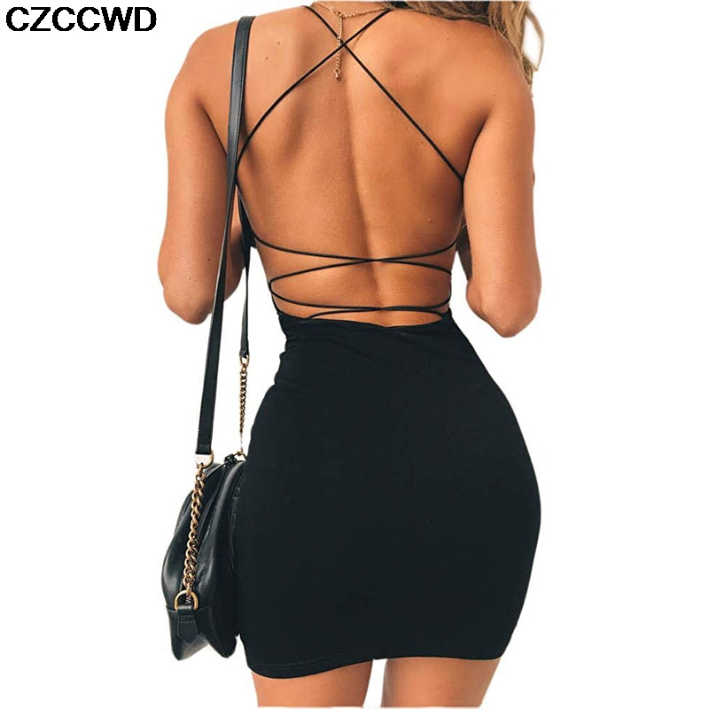 New Summer Women <font><b>Sexy</b></font> Solid Color Bandage Bodycon <font><b>Dress</b></font> Snake Print <font><b>Casual</b></font> Sleeveless Party Club <font><b>Mini</b></font> <font><b>Dress</b></font> Vestidos For Female image