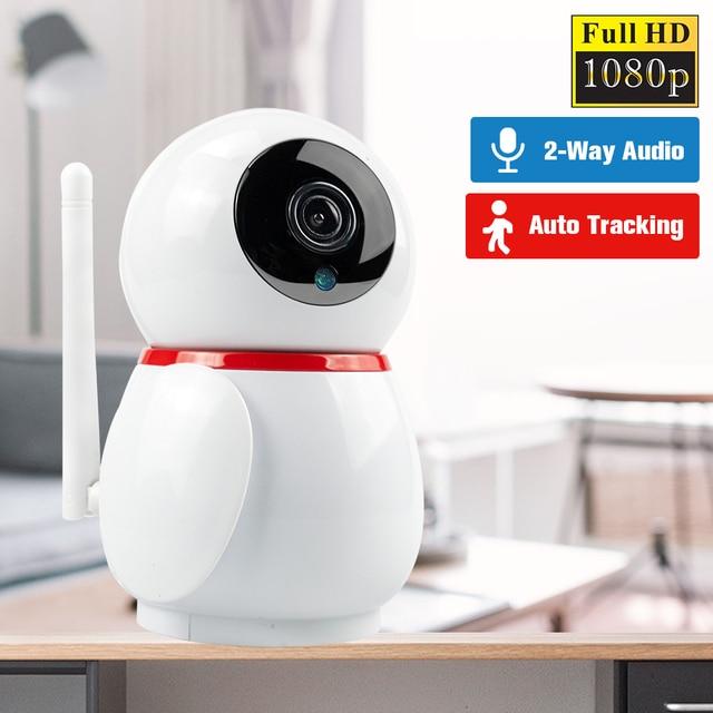 Defeway hd 1080 1080p スマートカメラホームミニ wifi カメラ双方向オーディオ wifi ip カメラナイトビジョンビデオカメラ監視カメラ