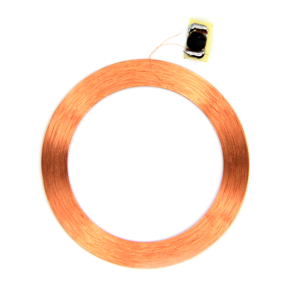 1pcs 125khz EM4305 EM4205 Writable RFID Copper Coil Keyfobs Key Ring Replicable Blank Card Copy Proximity Access Control
