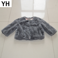 Women Slim Casual 100 Natural Rex Rabbit Fur Coats Short Style Real Rex Rabbit Fur Jackets Girl Winter Rex Rabbit Fur Overcoats cheap doakxol Double-faced Fur Real Fur YH-8092 Thick (Winter) REGULAR Natural Color O-Neck Nine Quarter Covered Button Solid