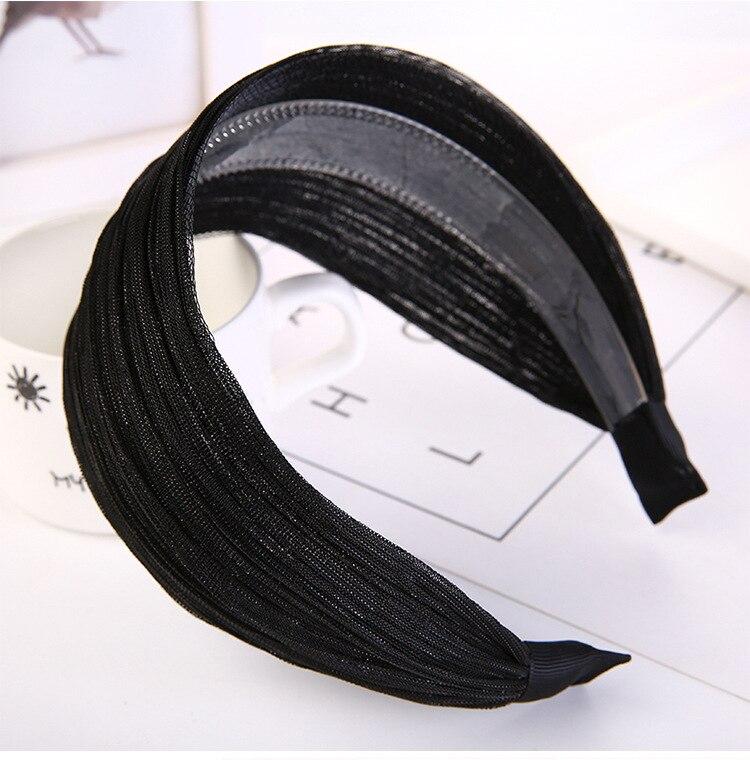 do Cabelo HeadBands Bandas de Cabeça Ampla Ventilação HA993