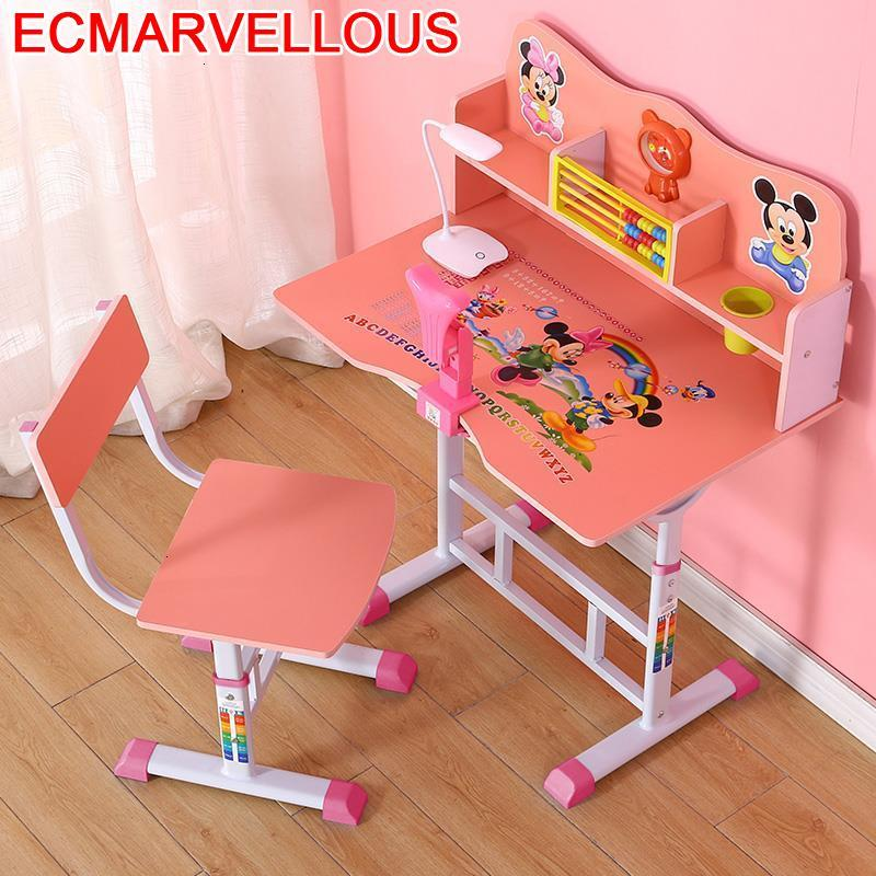 Estudio Tavolo Bambini Play Cocuk Masasi Kindertisch Baby And Chair Adjustable Mesa Infantil For Bureau Enfant Kids Study Table