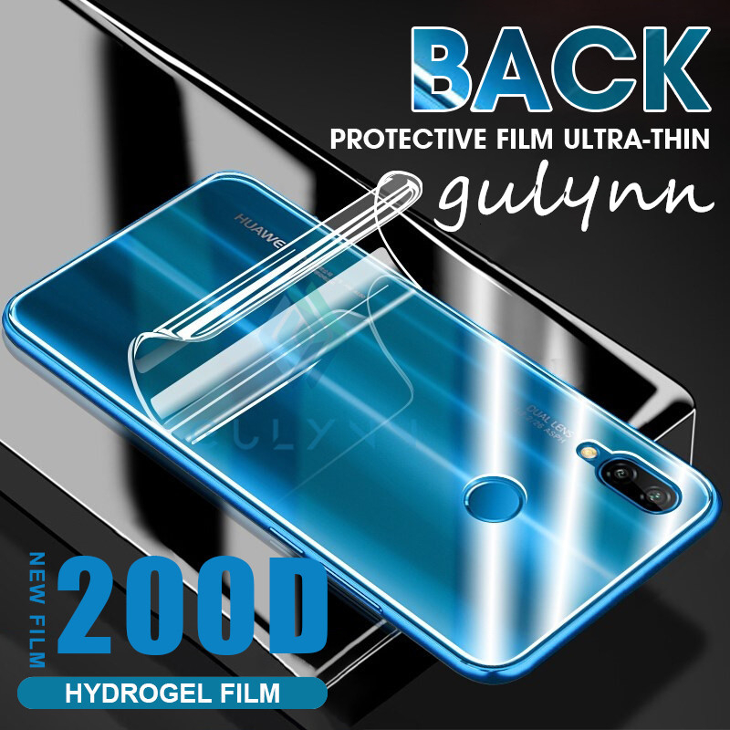 New 200D Screen Protector Back Cover Soft Hydrogel Film For Huawei P20 P30 Mate 20 30 Lite PRO Protective Film For Honor 9X 20