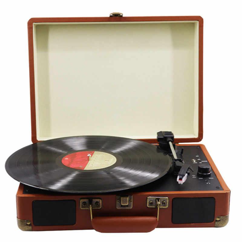 ポータブルレコードプレーヤー蓄音機ビニールレコードusb bluetooth ...