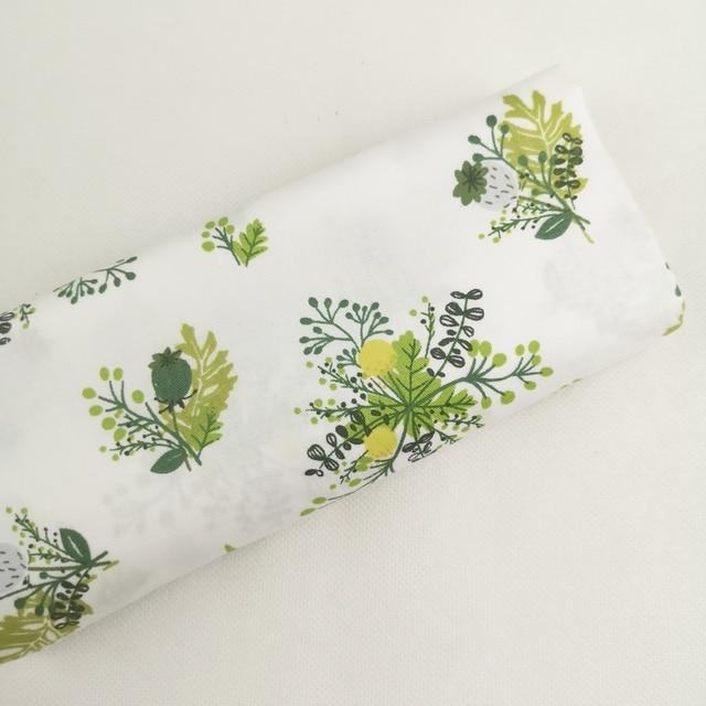 100% cotton printed  fabric diy sewing fabric for home textile bedding sheets baby dress DIY manual work cloth tecidos tilda 3