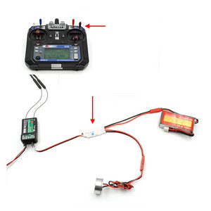 Радиоуправляемый переключатель реле TX, приемник pwm, светодиодный переключатель управления распылителем, переключатель контроллера для радиоуправляемого дрона, FPV