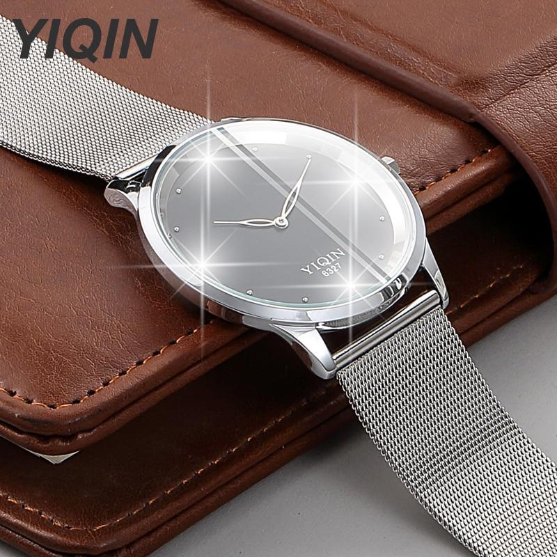 New Brand Luxury Ladies Watch Quartz Wristwatches Ultra Thin Women Watches Waterproof Stainless Steel Kadin Saat Big Dial Watch